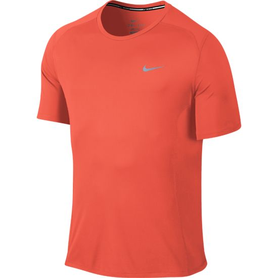 Dri-Fit Miler Short Sleeve Herre TURF ORANGE/REF