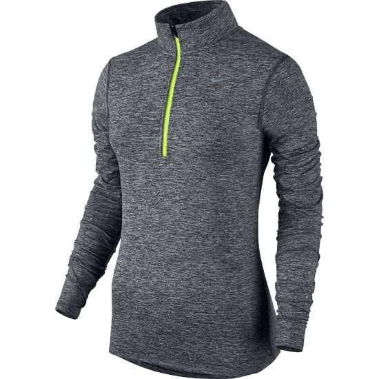 Element Half Zip Dame BLACK/HTR/VOLT/