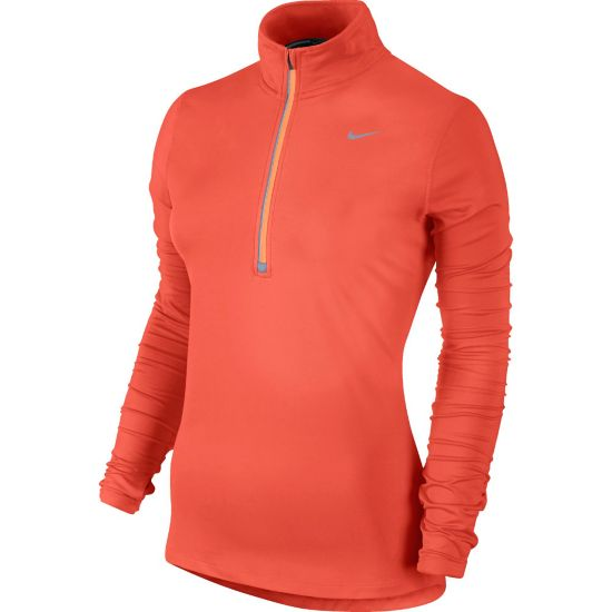 Element Half Zip Dame TURF ORANGE/PEA