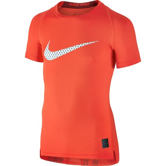 Cool Compression Top Jr. 852-MAX ORANGE/
