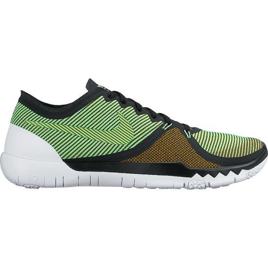 Nike Free trainer 3.0 Treningssko Herre BLACK/VLTG GREE