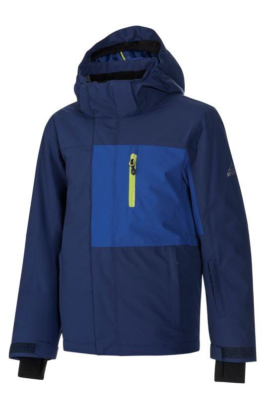 Natal Alpinjakke Junior BLUE DARK/GREEN