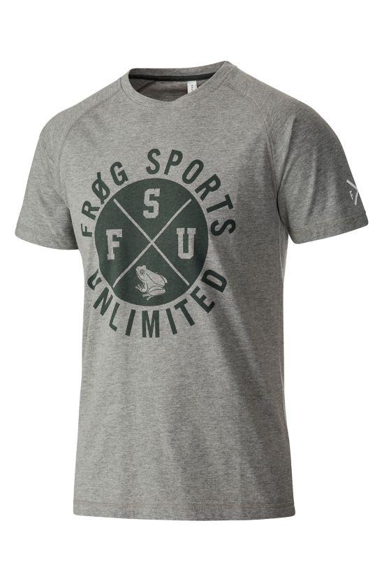 Liam T-skjorte Herre GREY