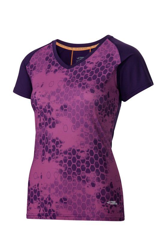 Ragneta T-Skjorte Dame PURPLE D/MULTI