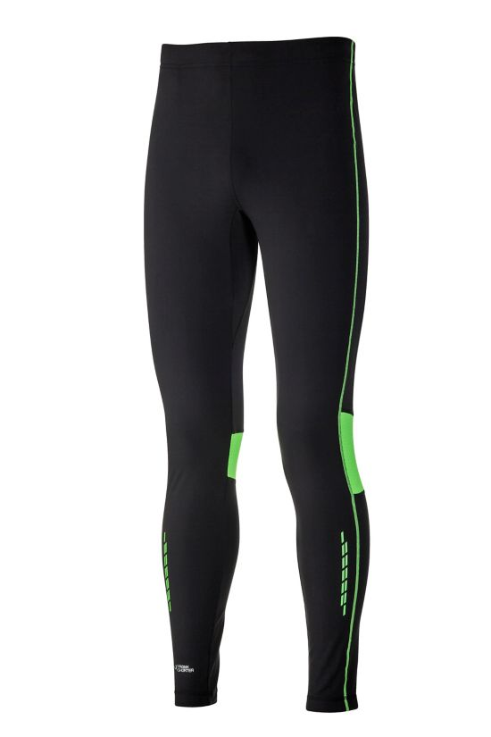 Randall II Long Tight Thermo Brushed BLK/GREEN LIME