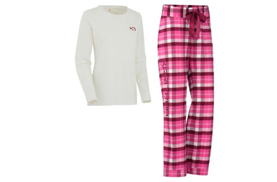 Fager Pyjamas Dame PLUM