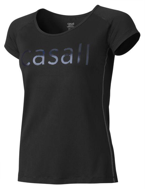 Logo Trenings T-Skjorte BLACK