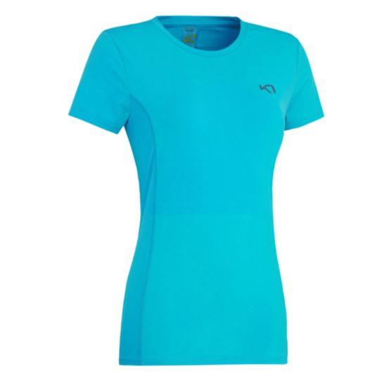 Myrblå Trenings T-Skjorte Dame