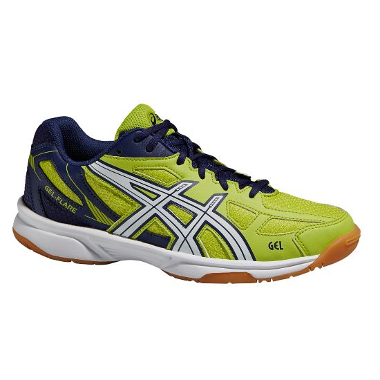 Gel-Flare 5 GS Treningssko Jr. LIME/WHITE/NAVY