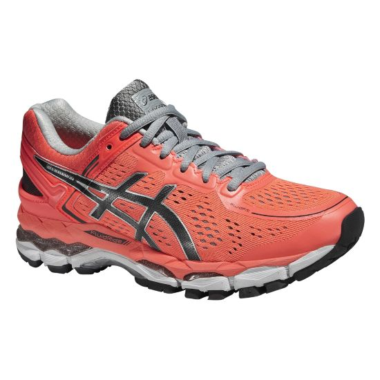 Gel-Kayano 22 Løpesko Dame FLASH CORAL/CAR
