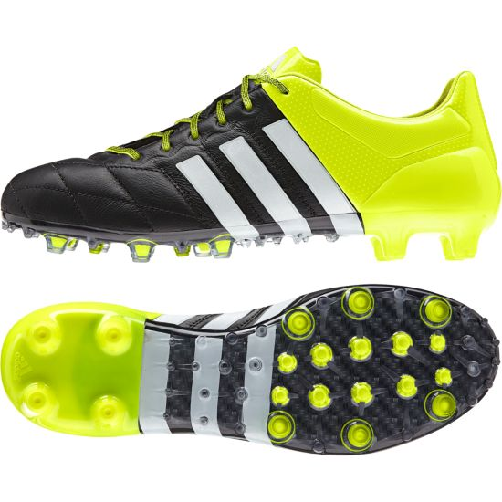 Ace 15.1 FG/AG Leather Fotballsko