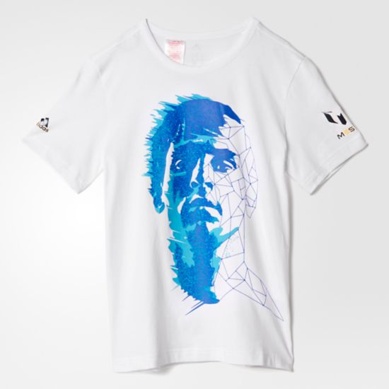 Messi Graphic T-skjorte WHITE