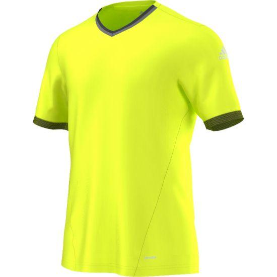 Ax Climalite Trenings T-Skjorte Herre SYELLO/BLACK