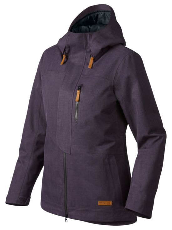 Hemlocks Gore-Tex Biozone Jakke PURPLE SHADE