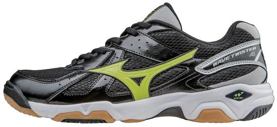 Wave Twister 4 Innendørssko Herre BLACK/LIME PUNC