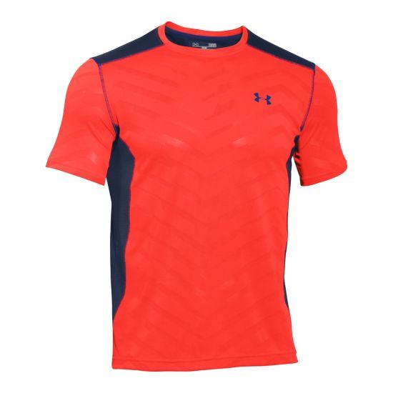 Jacquard Mesh T-skjorte Herre