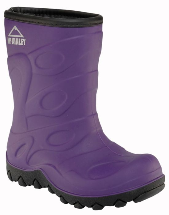 Trysil Fóret Gummistøvel Jr PURPLE/BLACK