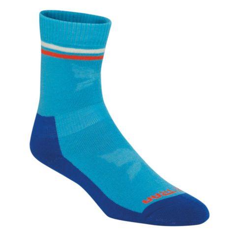 A Wool Sock Ullsokk Dame AQUA