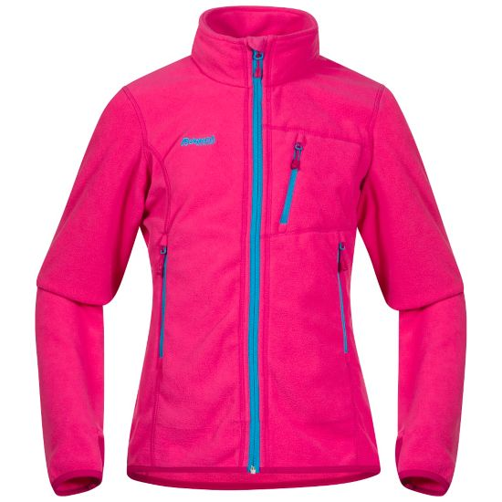 Runde Fleecejakke Junior HOT PINK/CERISE