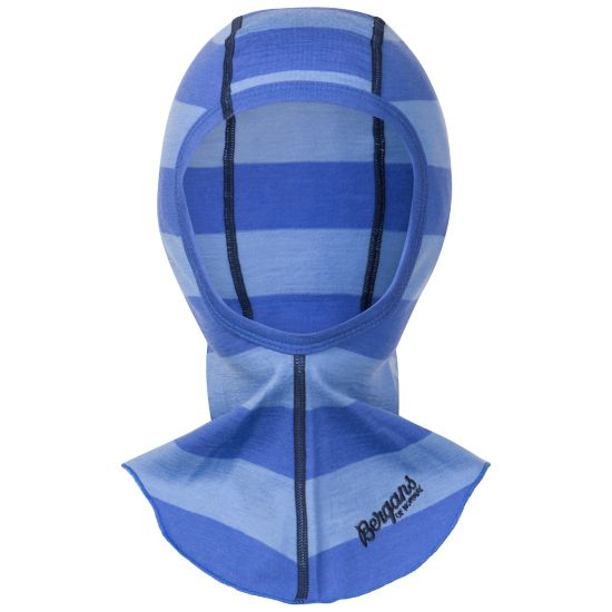 Fjellrapp Balaclava Barn SKYBLUE STRIPED