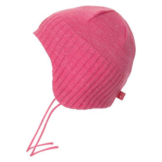 Sagen Baby Hat BRIGHT PINK MEL