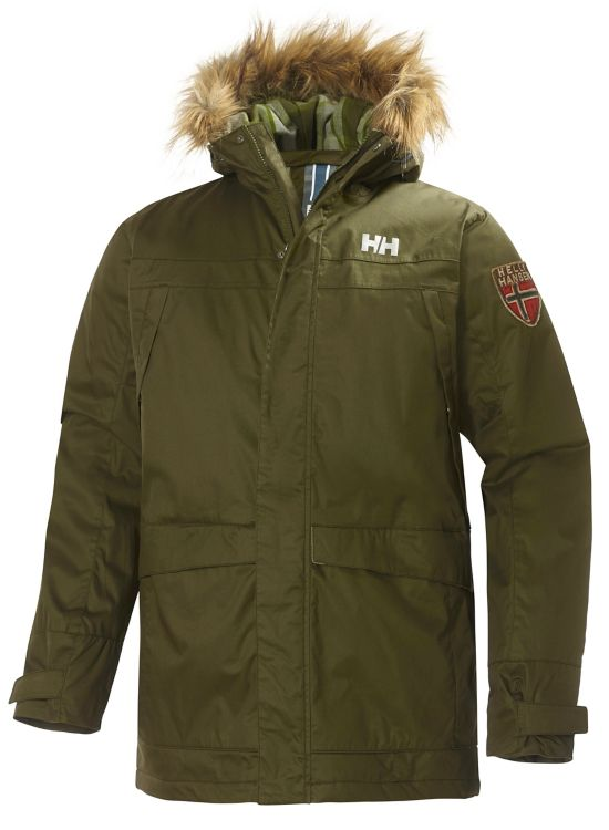Coastline Parka Herre OLIVE NIGHT