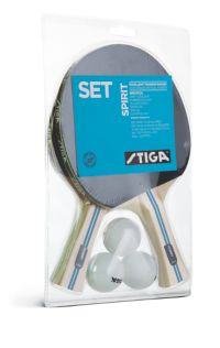 Set Spirit Bordtennissett Racket&Baller
