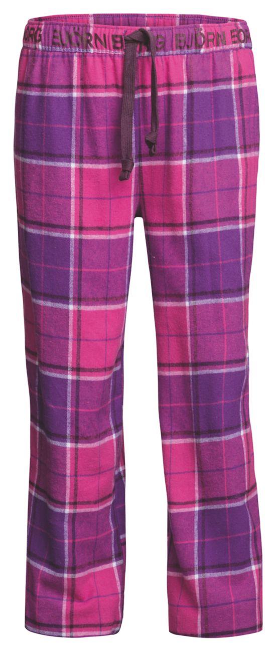Plaid Pyjamasbukse Junior PURPLE MAGIC