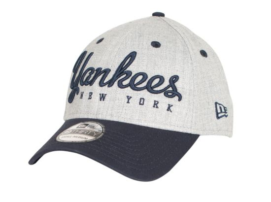 Team Script New York Yankees Caps GRANVY