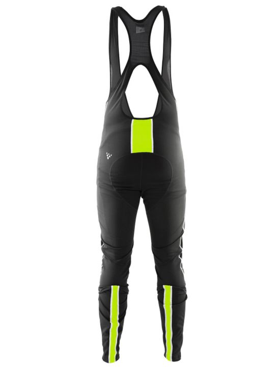 Storm Bib Tights Herre BLACK/FLUMINO
