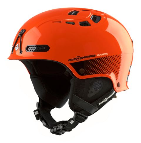 Igniter Alpiniste Hjelm SHOCK ORANGE