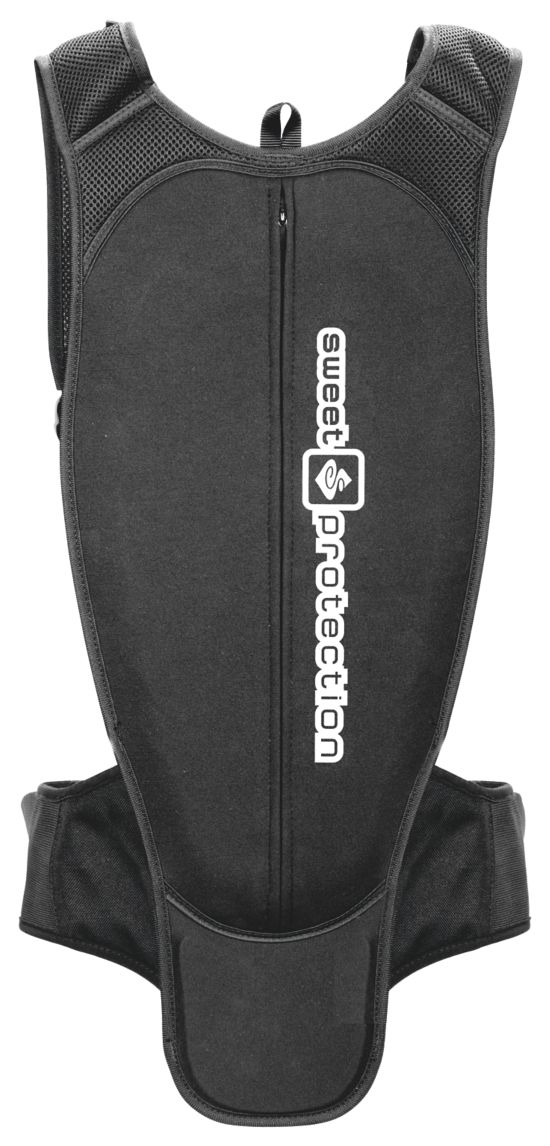 Bearsuit Soft Back Protector TRUE BLACK