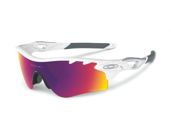 Radarlock Polished White /Prizm Road & Persimmon Vented Sportsbrille WHITE