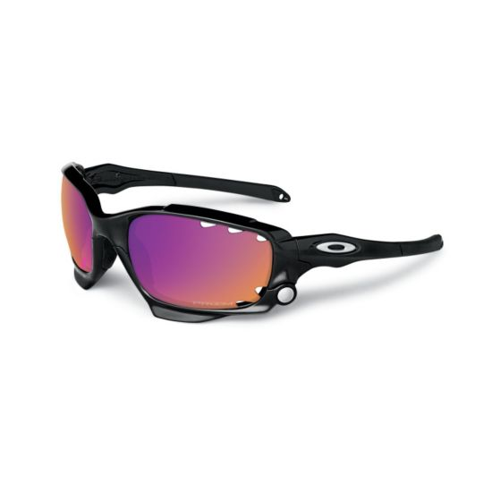 Oakley RacingJacket White/Prizm Road & Persimmon Vented