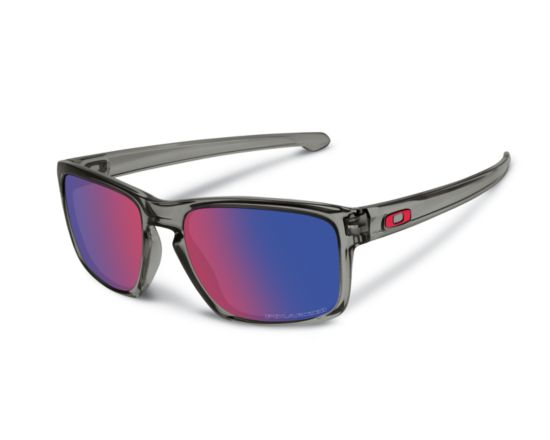 Sliver Grey Smoke/Red Polarized