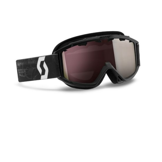 Jr Hook Up Chrome Goggle SCHEMATI BLK SI