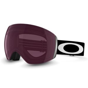 Flight Deck - Matte Black - Prizm™ Rose goggles