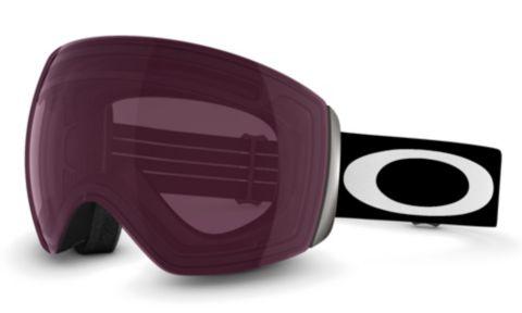 Flight Deck - Matte Black - Prizm™ Rose goggles