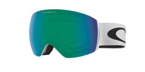 Flight Deck Xm Matte White/Prizm Jade Iridium Alpinbriller