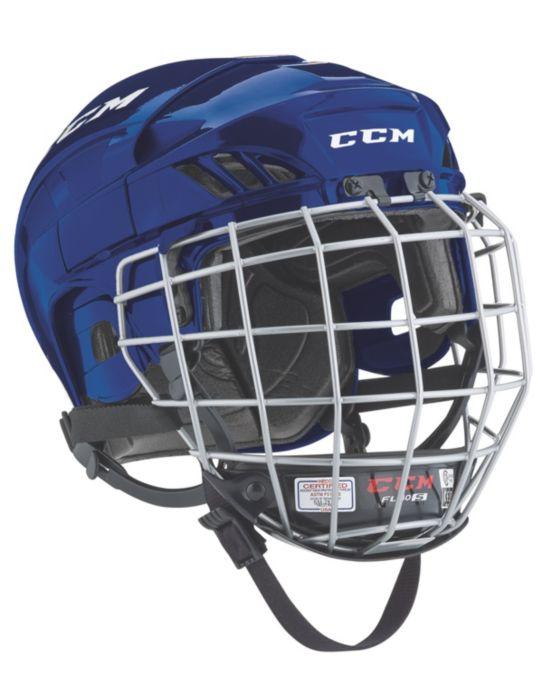 Hockeyhjelm Fitlite 40 Gitter NAVY
