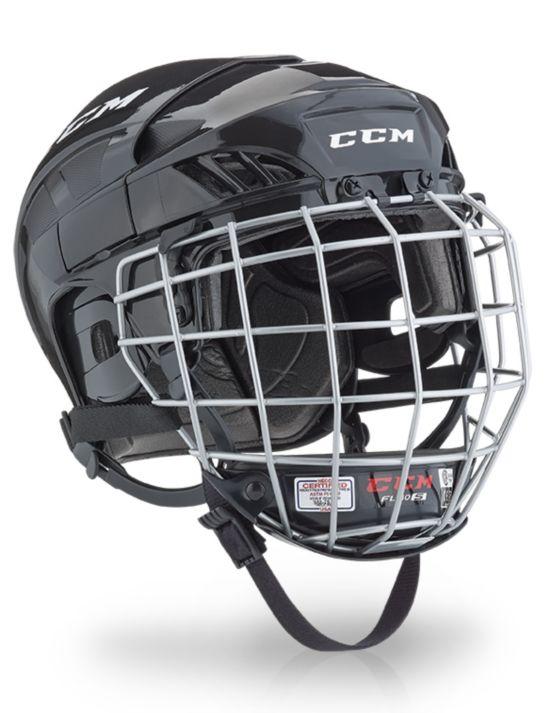 Hockeyhjelm Fitlite 40 Gitter BLACK