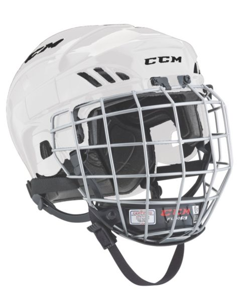 Fitlite 40 Hockeyhjelm Gitter WHITE