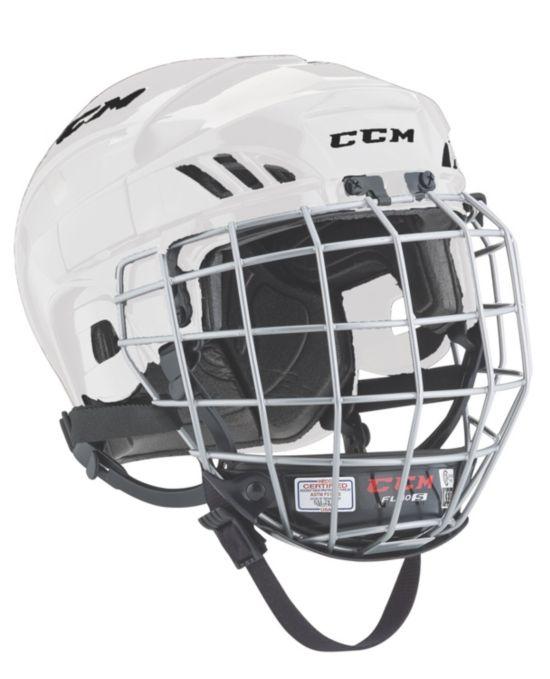 Hockeyhjelm Fitlite 40 Gitter WHITE