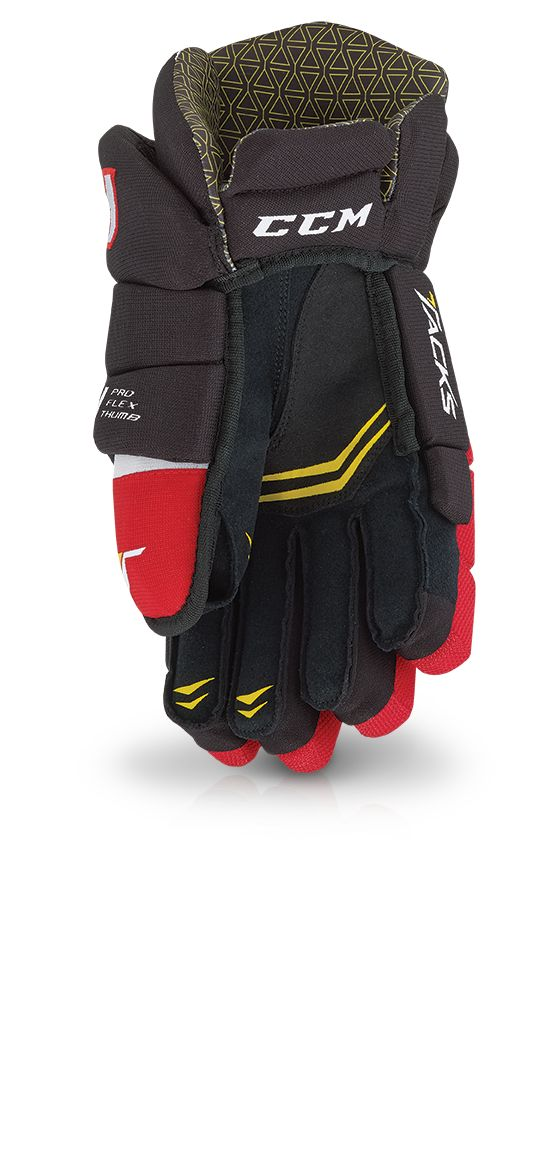 Hockeyhanske T 4052 Jr BLACK-RED