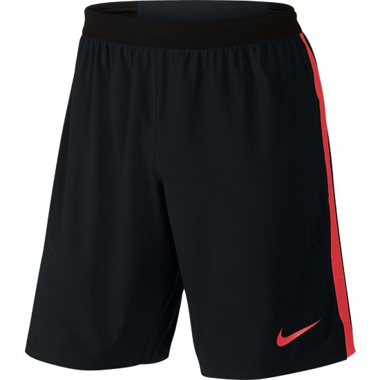 Striker Elite Football Shorts Herre BLACK/LT CRIMSO