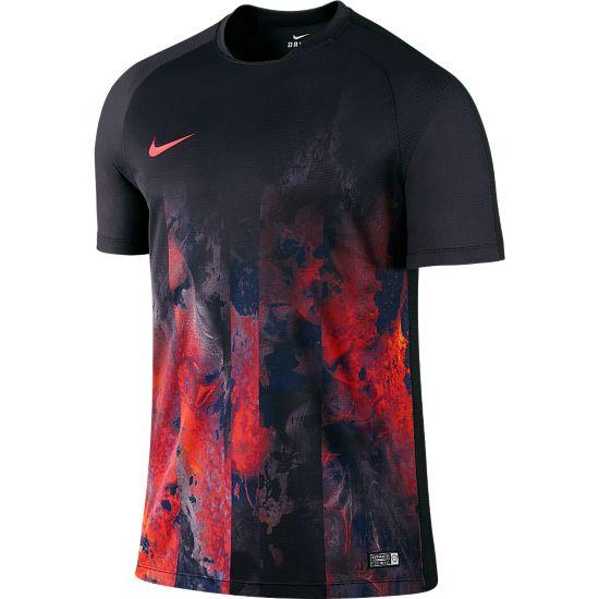 Flash B CR7 T-skjorte til Junior BLACK/LT CRIMSO
