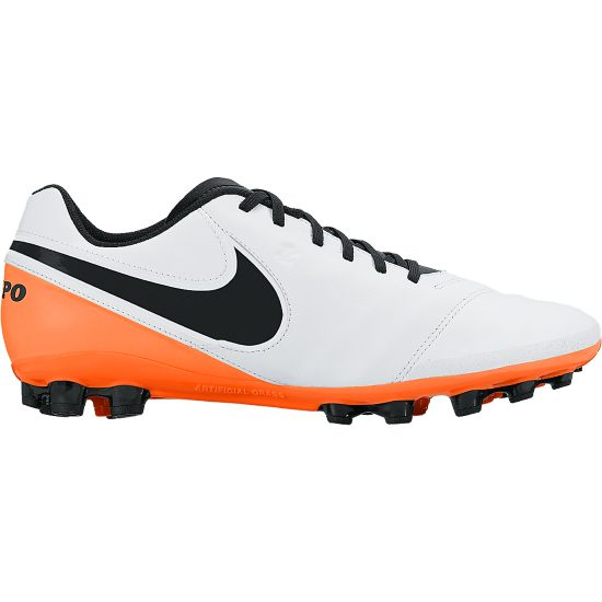 Tiempo Genio Leather Fotballsko Kunstgress WHITE/BLACK-TOT