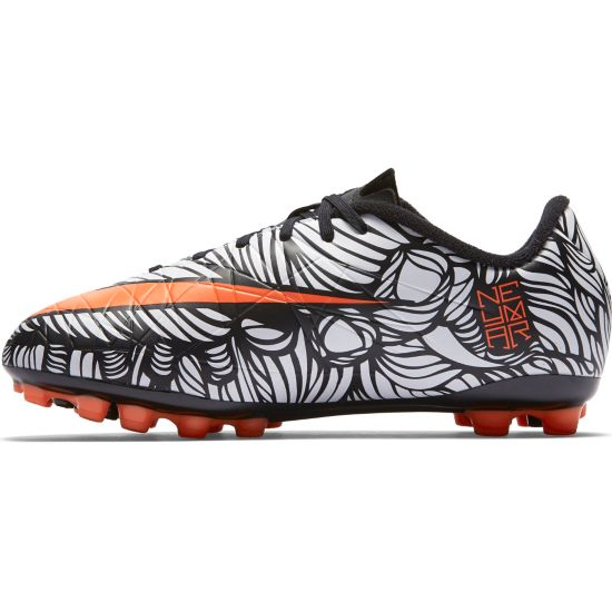 Neymar Hypervenom Phelon II Fotballsko Kunstgress Jr. BLACK/BRIGHT CR