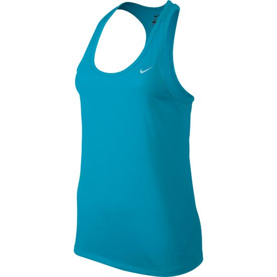 Fitness Tank Dame 408-BLUE LAGOON