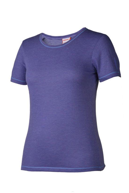 Molden Ull T-Skjorte Dame ULTRA VIOLET